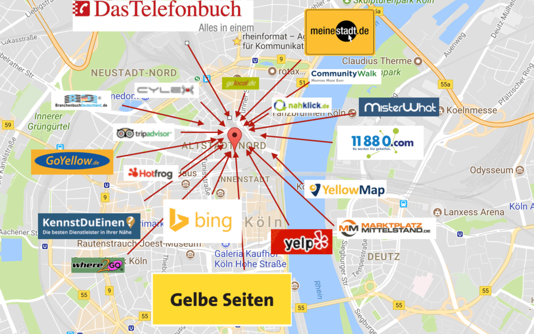 Bessere Rankings für Deinen Google My Business Eintrag mit Local Citations
