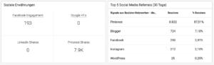 Social Media Analyse