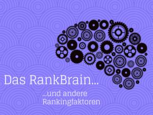 Rankbrain Rankingfaktor