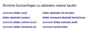 aehnliche Suchanfragen Google 2