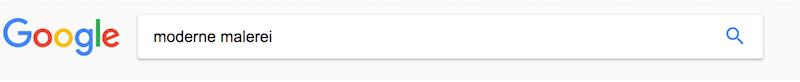 google keyword suche
