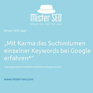 Suchvolumen Google
