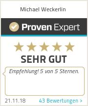 Erfahrungen & Bewertungen zu Michael Weckerlin