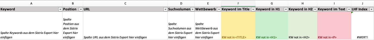 tabellenblatt lhf index