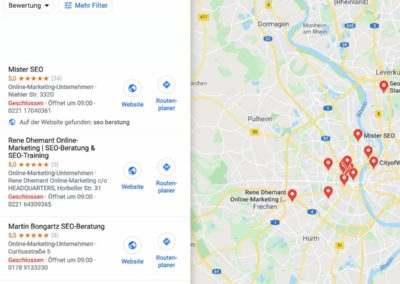 Local SEO - Google Maps