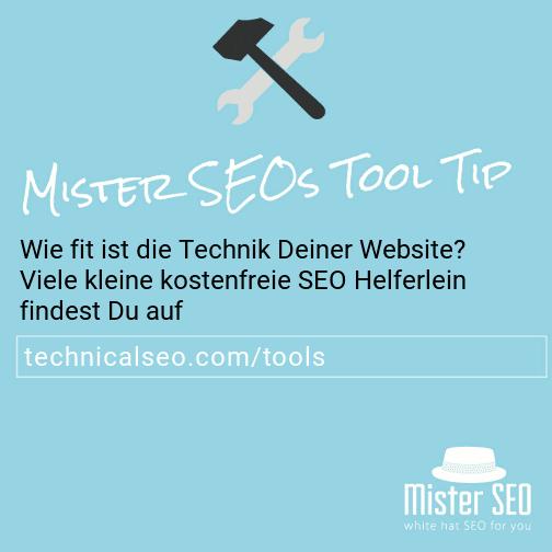 Technical SEO Tools