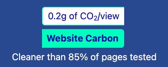 Website Carbon Bade